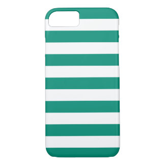 iPhone 7 Fall - Smaragdgrün-mutige Streifen iPhone 8/7 Hülle