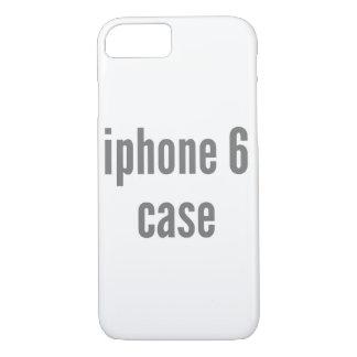 iPhone 7 Fall-vertikale Fülle-Schablone iPhone 7 Hülle