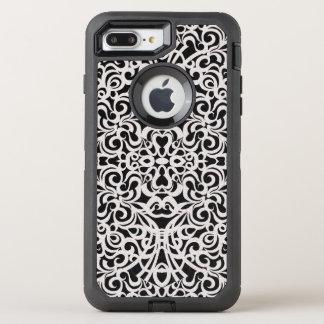 iPhone 7 Plusfall-barocke Art-Inspiration OtterBox Defender iPhone 8 Plus/7 Plus Hülle
