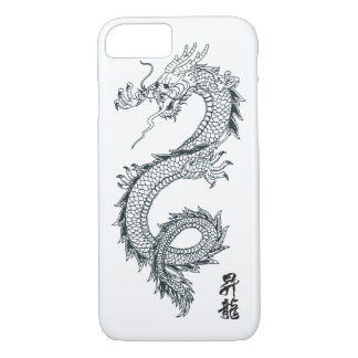 iPhone 7 schwarzer Drache-Telefon-Kasten iPhone 8/7 Hülle