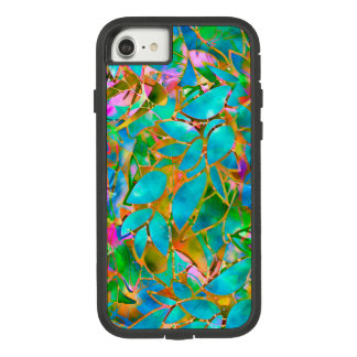 iPhone 7 starker Xtreme-Fall-BlumenBuntglas Case-Mate Tough Extreme iPhone 8/7 Hülle
