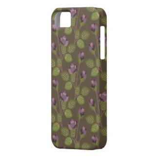 iPhone assez pourpre 5 de Coque-Compagnon de fleur Coque iPhone 5 Case-Mate