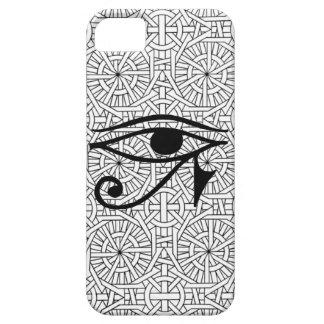 iPhone égyptien 5 de Coque-Compagnon d'oeil et de  Coque Barely There iPhone 5