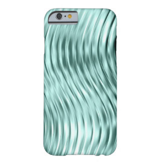 iPhone en verre incurvé par vert 6 de glace Coque Barely There iPhone 6