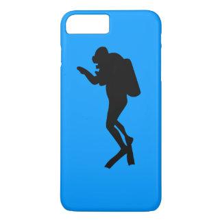 iPhone Fall - Sporttaucher iPhone 8 Plus/7 Plus Hülle
