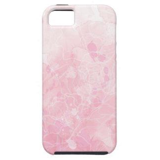 iPhone Fall - weich Rosa - mit Blumen iPhone 5 Etuis