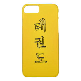 iPhone/iPad Fall: Taekwondo 태권도 (Koreaner Hangeul) iPhone 8/7 Hülle