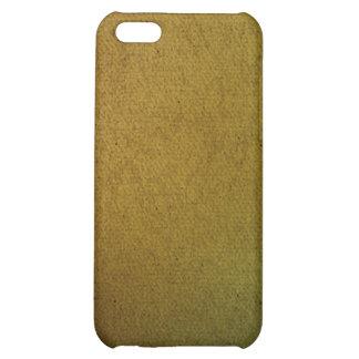 iPhone rustique 4 d'impression de toile Coque Pour iPhone 5C