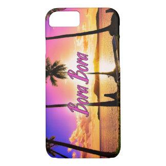iPhone/Samsung umkleiden: Sonnenuntergang Bora iPhone 7 Hülle