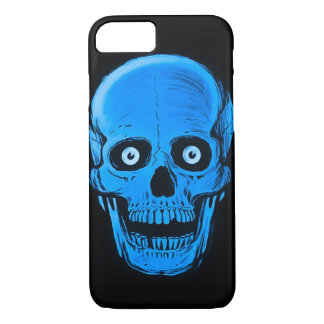 iPhone Skully Schädel-Horror-Astralschädel-Kasten iPhone 8/7 Hülle