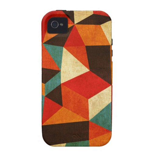 iphone vintage abstrait de cas coque Case-Mate iPhone 4