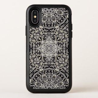 iPhone X Symmetrie-Fall Mehndi ethnische Art G419 OtterBox Symmetry iPhone X Hülle