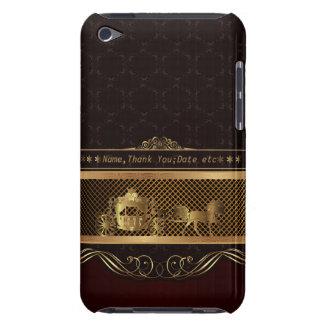 IPod-Touch-Luxuskasten der Hochzeit goldener Case-Mate iPod Touch Hülle