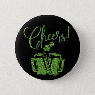 Iren jubeln St. Patricks Day-Party zu Runder Button 5,1 Cm