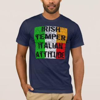 Iren mildern italienischen Haltungs-T - Shirt