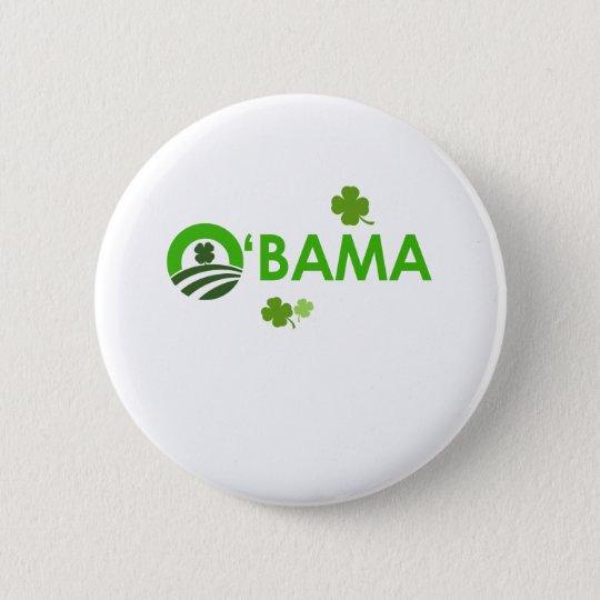 Iren Obama Runder Button 5,1 Cm