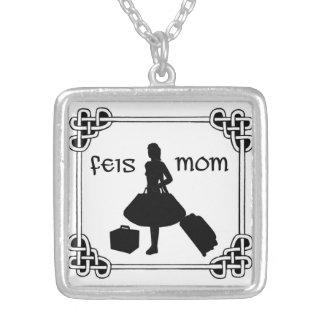 Iren-Tanz Feis Mamma-Halskette Versilberte Kette