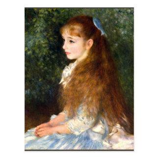 Irene Cahen d Anvers durch Pierre Renoir Postkarte