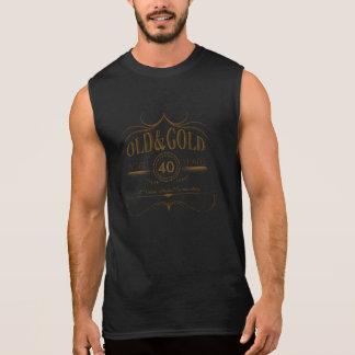 Irgendein altes Geburtstags-Gold OGSA Ärmelloses Shirt