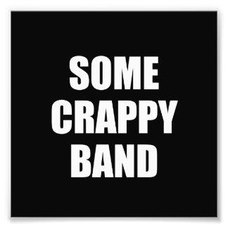 Irgendein Crappy Band Fotografie