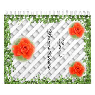 Irgendein Jahr-Planungs-Kalender, 24 Monate Kalender
