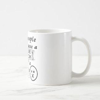Irgendein Ppl sollte einen Kleber-Stock für Kaffeetasse