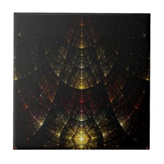 Iridescence Kleine Quadratische Fliese