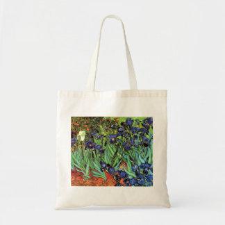 Iris durch feine Kunst-Taschen-Tasche Van Gogh Tragetasche
