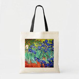 Iris durch Vincent van Gogh Tragetasche