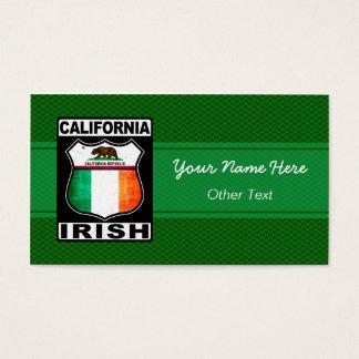 Irische amerikanische kundenspezifische visitenkarte