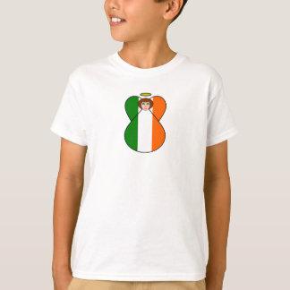 Irische Engels-Flaggen-Kleeblatt-Augen T-Shirt
