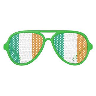 Irische Flagge Piloten Sonnenbrillen