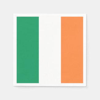 Irische Flagge: Tricolor Heiligen Patrick Servietten