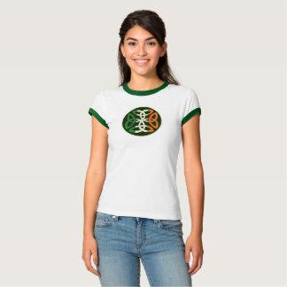 Irische Flaggen-keltischer ewiger Knoten Irland T-Shirt