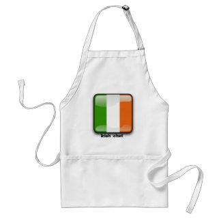 Irische glatte Flagge Schürze