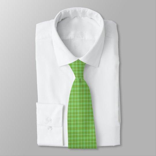 Irische grüne karierte Krawatte