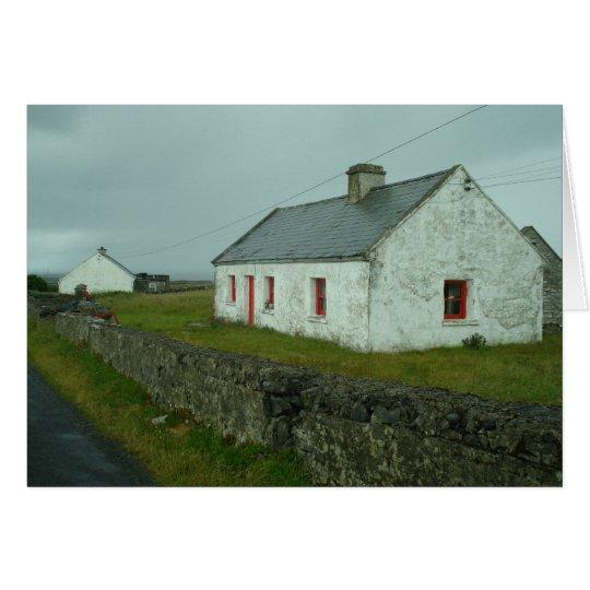 Irische Hütte II Mitteilungskarte