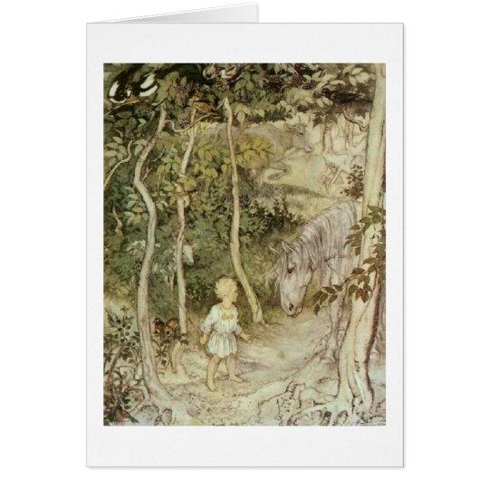 Irische Märchen (freier Raum nach innen) Grußkarte
