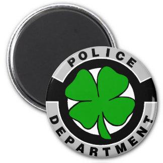 Irische Polizeibeamten Runder Magnet 5,7 Cm