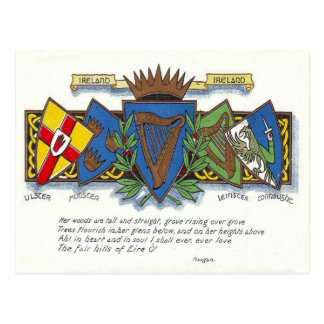 Irische Provinzpostkarte Postkarte