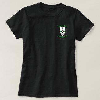 Irische Schädel-Spitze O das Mornin zu Ya T-Shirt