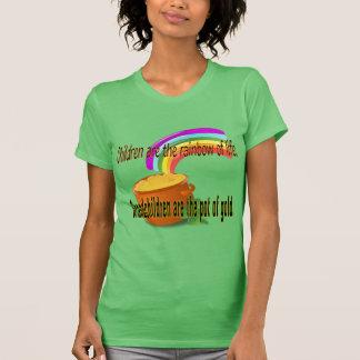 Irische Shirt Kinder sind die Regenbogen des