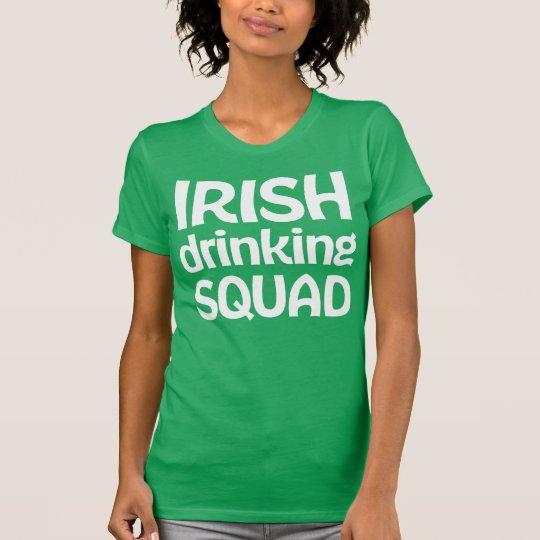 Irische trinkende Shirts Gruppe-St. Patricks Tages