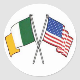 Irischer amerikanischer Aufkleber