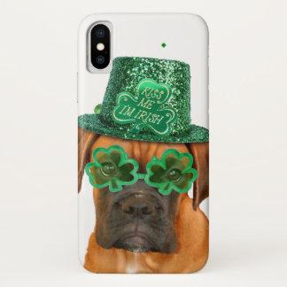 Irischer BoxerhundiPhone X Fall iPhone X Hülle