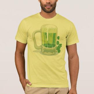 Irischer grüner Bier-T - Shirt