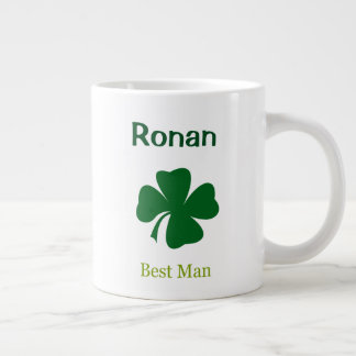 Irischer Hochzeits-Trauzeuge-personalisierte Tasse
