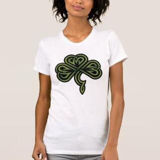 Irischer Kleeblatt-T - Shirt