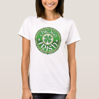 Irischer Kleeblatt-T - Shirt Chicagos