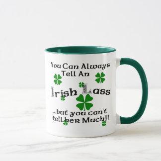 Irischer Lass - Sie können immer sagen. Tasse